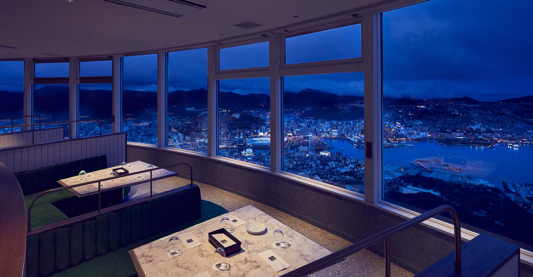 稲佐山の夜景画像