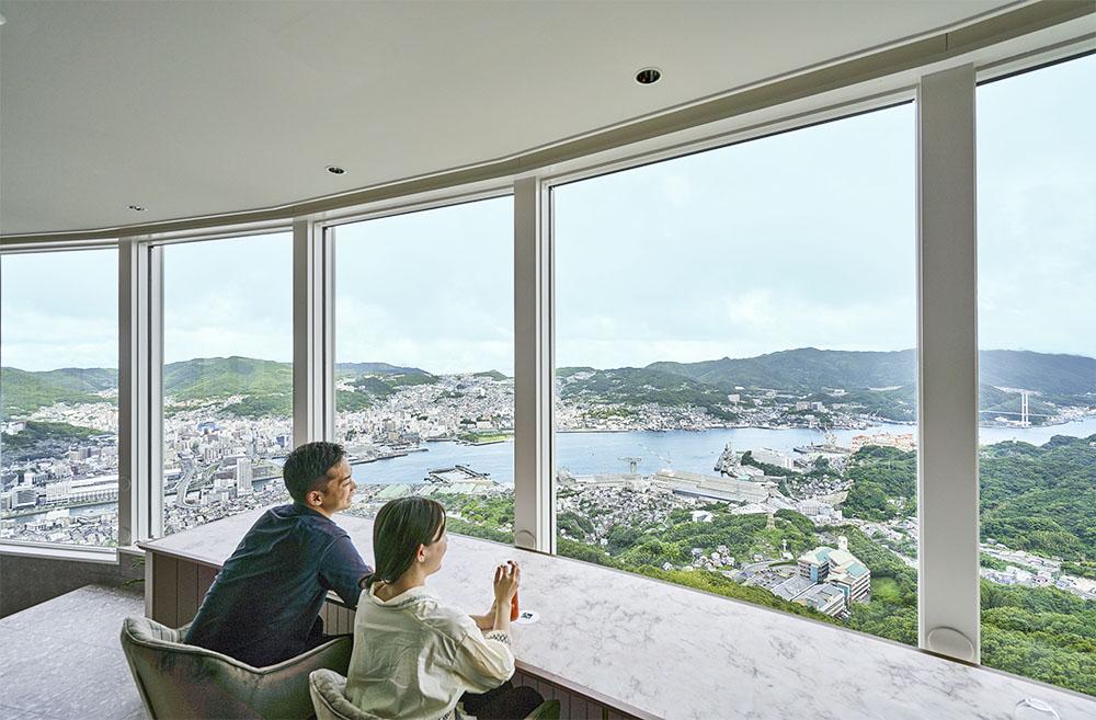 稲佐山の風景画像